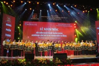 Khai mạc Hội diễn nghệ thuật quần chúng Agribank lần thứ III