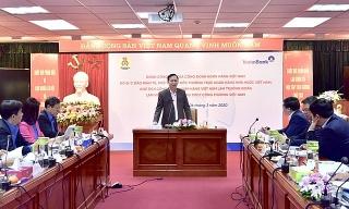 Công đoàn Ngân hàng Việt Nam làm việc với VietinBank