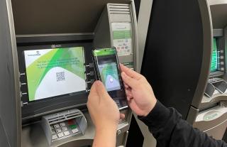 Rút tiền tại ATM không cần dùng thẻ