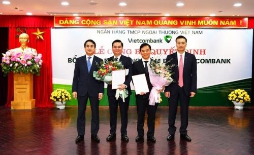 Vietcombank có 2 tân Phó tổng giám đốc