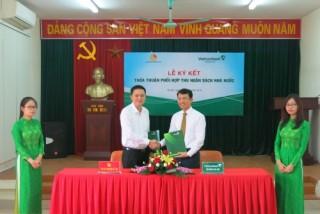 Vietcombank Sóc Sơn phối hợp thu NSNN với Kho bạc Nhà nước huyện Mê Linh