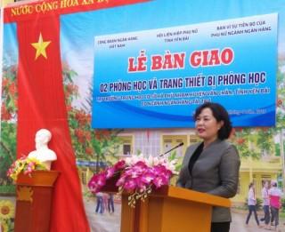 Khánh thành nhà lớp học Trường THCS xã Phù Nham, Yên Bái