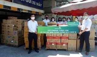Vietcombank Thăng Long tiếp sức công nhân lao động tại Bắc Ninh
