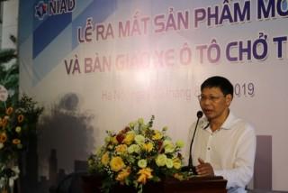 NIAD: Bàn giao xe chở tiền cho các chi nhánh BIDV