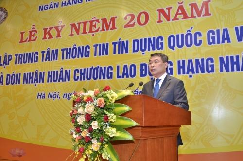 Trung tâm Thông tin Tín dụng Quốc gia Việt Nam đón nhận Huân chương Lao động hạng Nhất