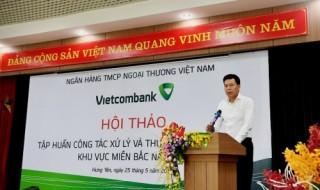 Đưa nợ xấu xuống dưới 1%, Vietcombank thực hiện nhiều giải pháp quyết liệt, hiệu quả