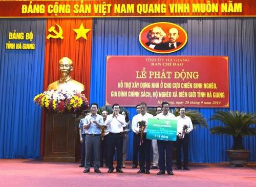 Hơn 700 ngôi nhà cho người có công, cựu chiến binh, hộ nghèo tại Hà Giang