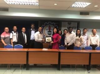 Công đoàn ngân hàng Việt Nam - Malaysia tăng cường trao đổi thông tin