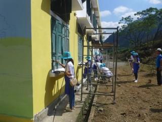 Ngân hàng IBK thực hiện hoạt động trách nhiệm cộng đồng tại Hòa Bình