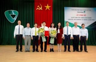 Điều động, bổ nhiệm Giám đốc Vietcombank Quảng Ngãi và Dung Quất