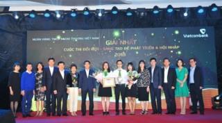Vietcombank: Hơn 1000 sáng kiến đổi mới, sáng tạo