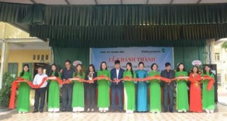 Vietcombank tài trợ 3 tỷ xây dựng trường tiểu học Hoàng Diệu, Hải Dương