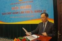 Công đoàn Ngân hàng Việt Nam tổ chức thành công Hội nghị Ban chấp hành lần thứ 5 Khóa VI