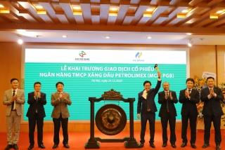 PG BANK thực hiện đăng ký giao dịch cổ phiếu thành công trên UPCOM