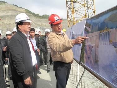 Thuỷ điện Lai Châu dự kiến hoàn thành sớm trước 1 năm