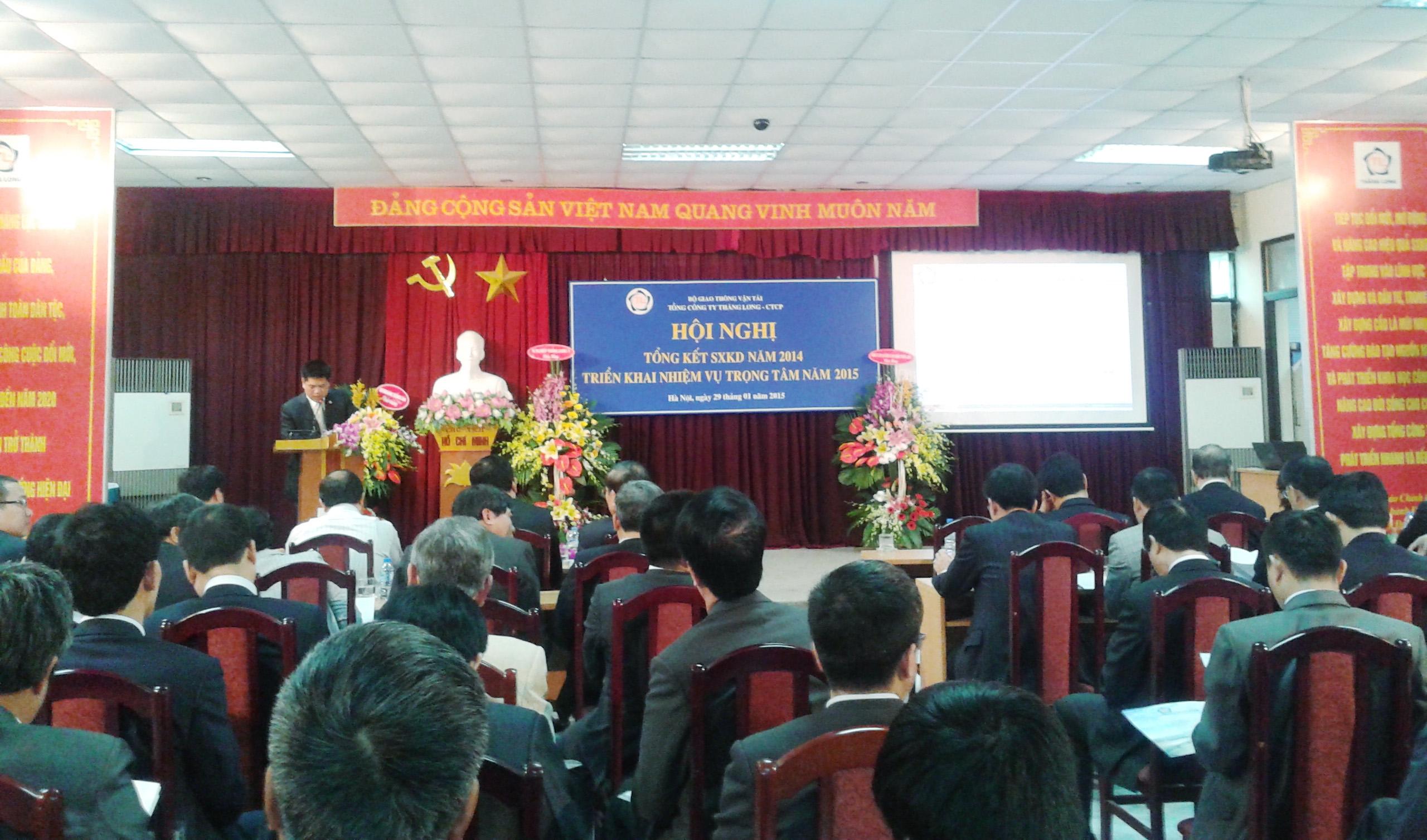 Năm 2014, Tổng công ty Thăng Long đạt doanh thu 4.521 tỷ đồng
