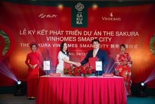 Vinhomes hợp tác với Tập đoàn Samty phát triển dự án TheSakura