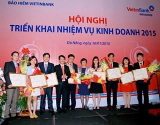 Năm 2014: Bảo hiểm VietinBank tăng trưởng vượt bậc