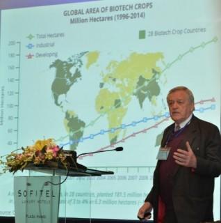 Cây trồng công nghệ sinh học tiếp tục tăng trưởng trong năm 2014