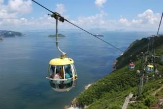 'Đu dây' ngắm Nam Phú Quốc đẹp mê hồn