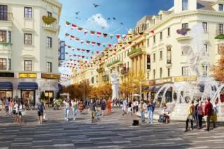 Tiểu khu shophouse 'biến hóa' thành con phố thời trang phong cách châu Âu