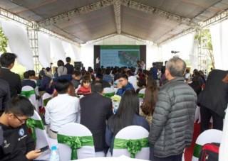 Dự án The Diamond Park Mê Linh: Có thêm nhiều chủ nhân sau ngày mở bán