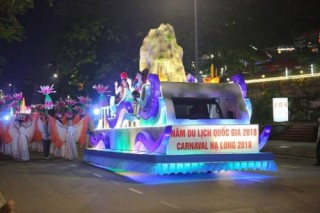 """Hạ Long """"không ngủ"""" đêm diễu hành Carnaval đường phố 26/4"""