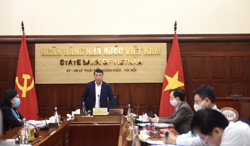 Thủ tướng đánh giá cao ngành Ngân hàng trong việc hỗ trợ người dân, doanh nghiệp khắc phục khó khăn do dịch Covid-19 gây ra
