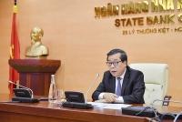 Phó Thống đốc Nguyễn Kim Anh làm việc với Phó Chủ tịch IFC nhân dịp Hội nghị Mùa xuân IMF/WB