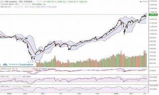 VN-Index tăng 7,7 điểm, thị trường đang trong xu hướng tăng dài hạn