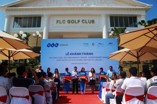 Khánh thành các hạng mục đầu tiên tại quần thể du lịch FLC Sầm Sơn