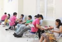 Hơn 200 nhân viên văn phòng hiến máu vì bệnh nhân Tan máu bẩm sinh