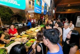 Du khách đổ về Không gian ẩm thực Ngũ hành DIFF 2017