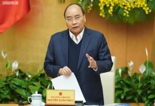 Thủ tướng chủ trì phiên họp Chính phủ thường kỳ tháng 4/2019