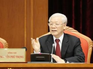 Phát biểu của Tổng Bí thư, Chủ tịch nước Nguyễn Phú Trọng khai mạc Hội nghị Trung ương 10