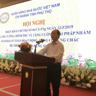 Phú Thọ triển khai Chỉ thị 06/CT-TTg trên địa bàn tỉnh