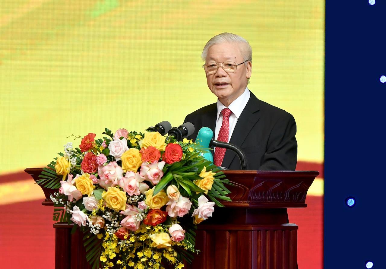 Phát biểu của Tổng Bí thư tại Lễ kỷ niệm 70 năm thành lập Ngân hàng Việt Nam