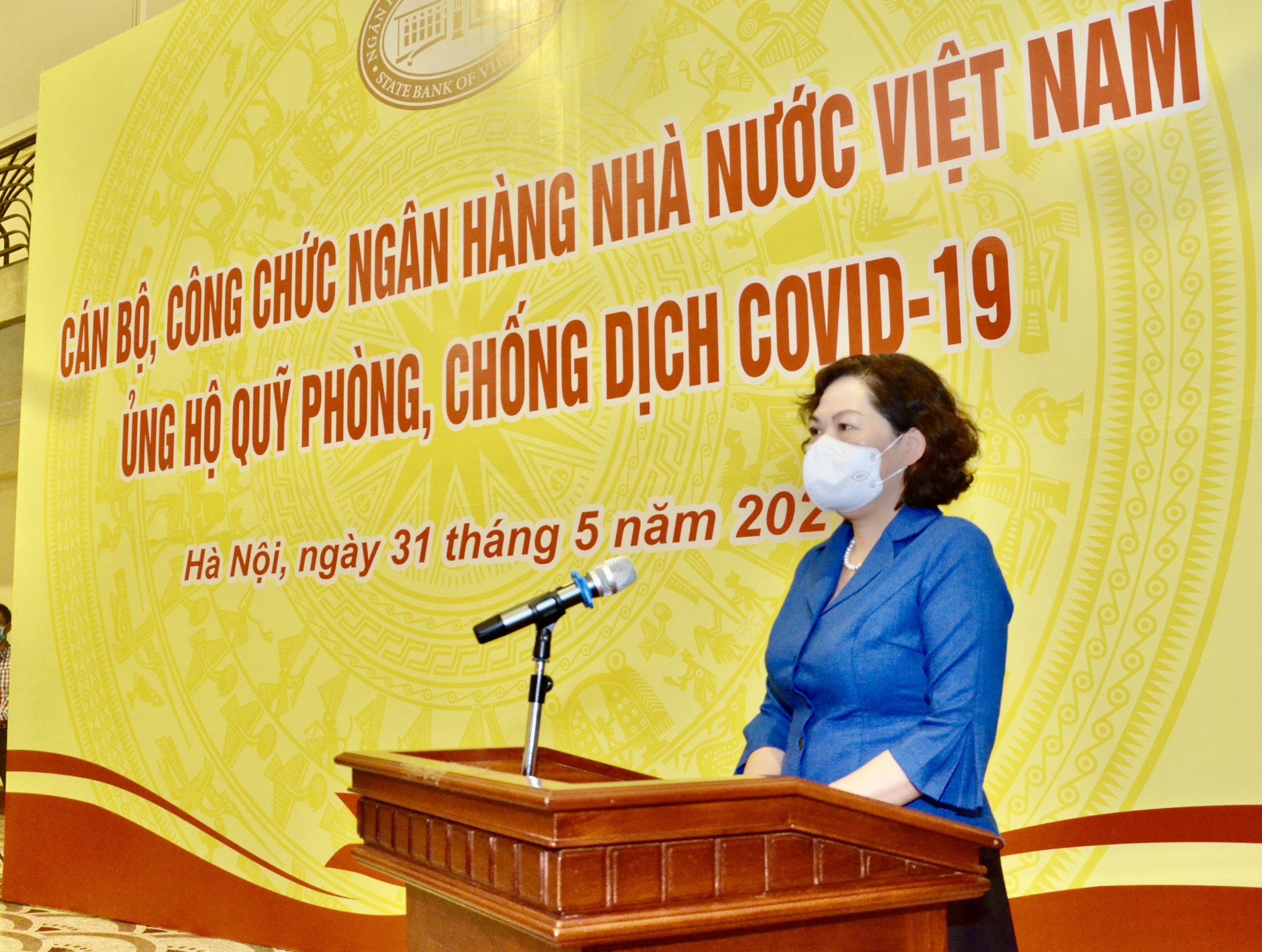 ngan hang nha nuoc viet nam ung ho quy phong chong covid 19