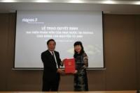 Bà Nguyễn Tú Anh giữ chức vụ Chủ tịch NAPAS
