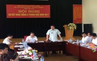 Lào Cai: Sơ kết 6 tháng đầu năm Chương trình kết nối NH - DN