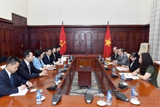Phó Thống đốc Đoàn Thái Sơn tiếp đoàn Ngân hàng Nông nghiệp Trung Quốc
