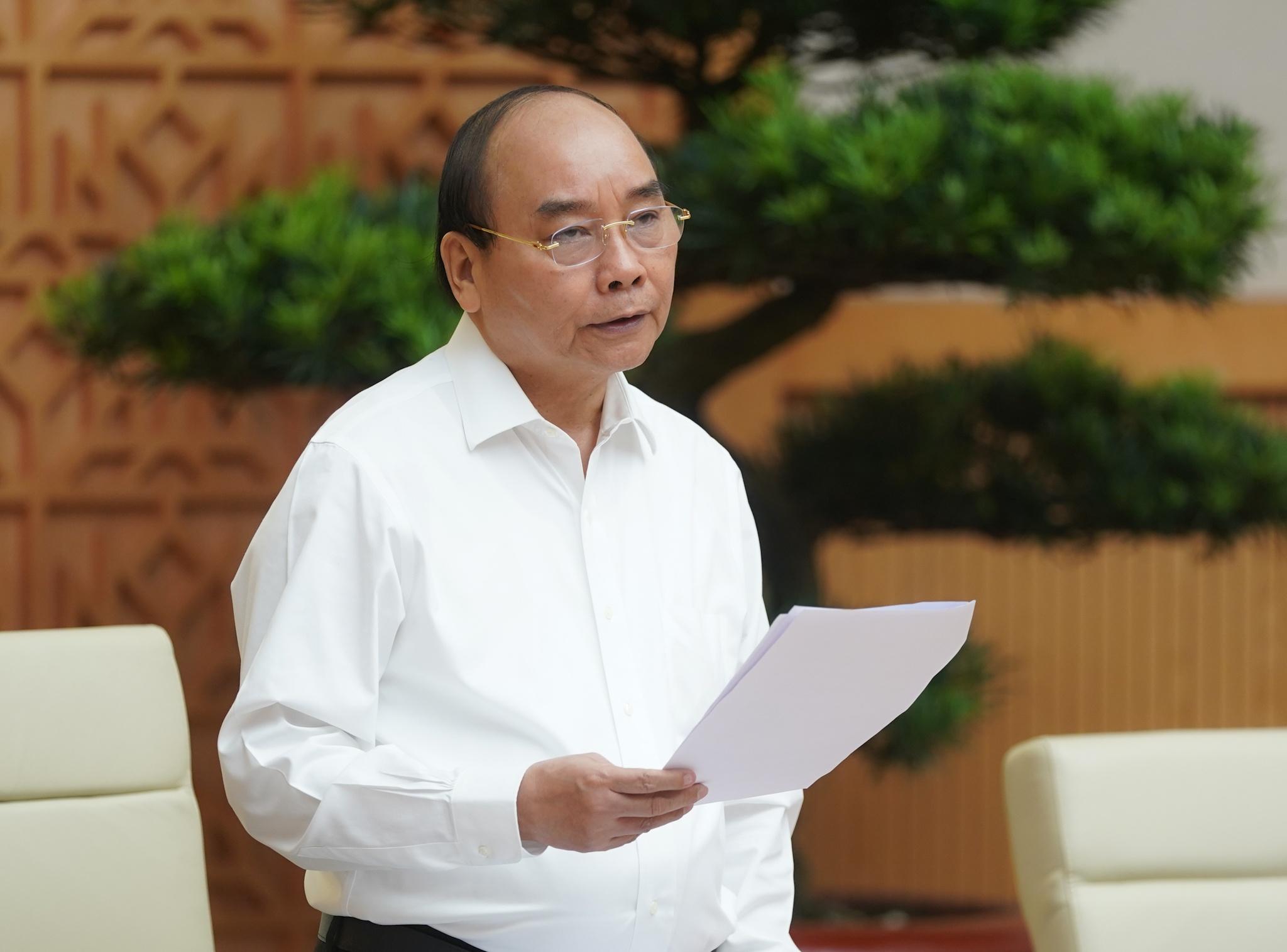 Thủ tướng nhấn mạnh quyết tâm đưa nền kinh tế vượt lên