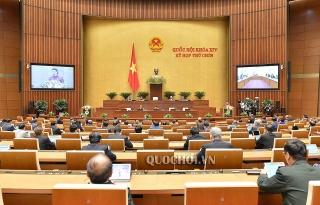 Quốc hội tiếp tục Kỳ họp thứ 9 theo hình thức tập trung