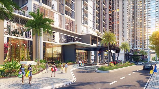 26 căn Shophouse duy nhất tại Eco-Green Sài Gòn quận 7 thu hút nhà đầu tư