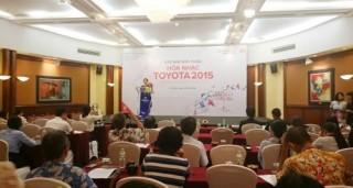 Hòa nhạc Toyota 2015 tôn vinh âm nhạc cách mạng