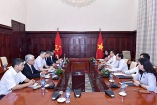 Phó Thống đốc Đào Minh Tú tiếp Đoàn công tác NAPHE, Nhật Bản
