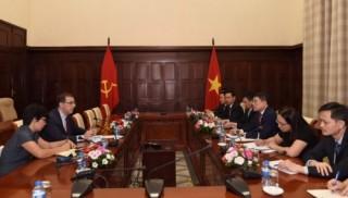 Thống đốc NHNN tiếp Trưởng đại diện IMF tại Việt Nam