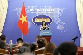 Phản ứng của Việt Nam với lập trường của Hoa Kỳ về Biển Đông