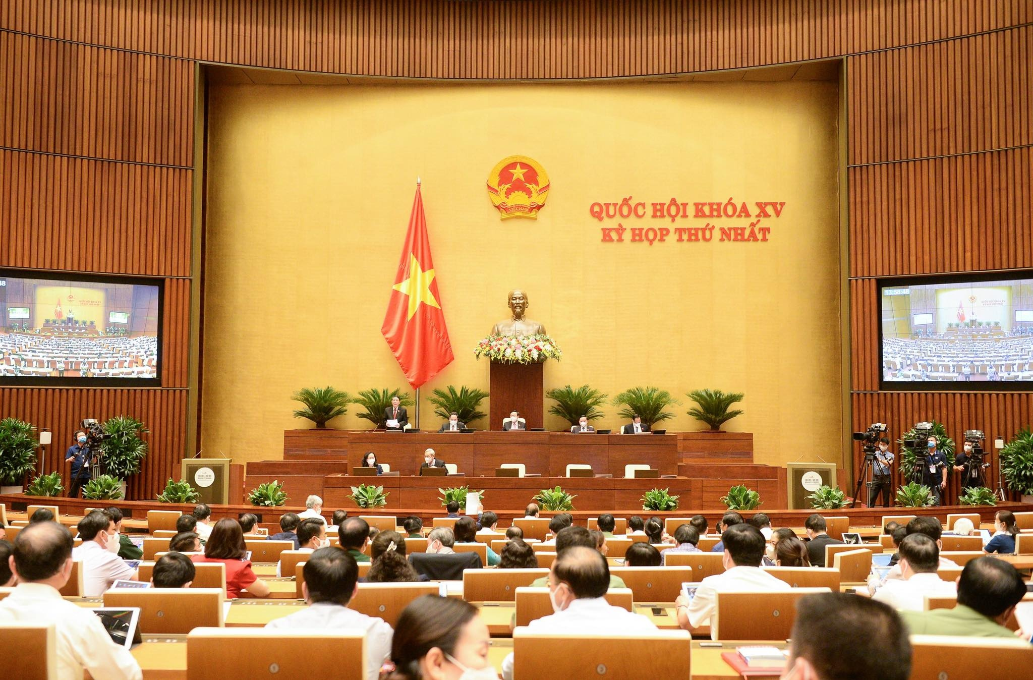 quoc hoi thong qua nghi quyet ve ke hoach tai chinh quoc gia va vay tra no giai doan 2021 2025