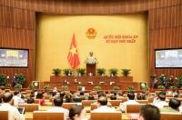 Quốc hội thông qua Nghị quyết về kế hoạch tài chính quốc gia và vay, trả nợ giai đoạn 2021-2025